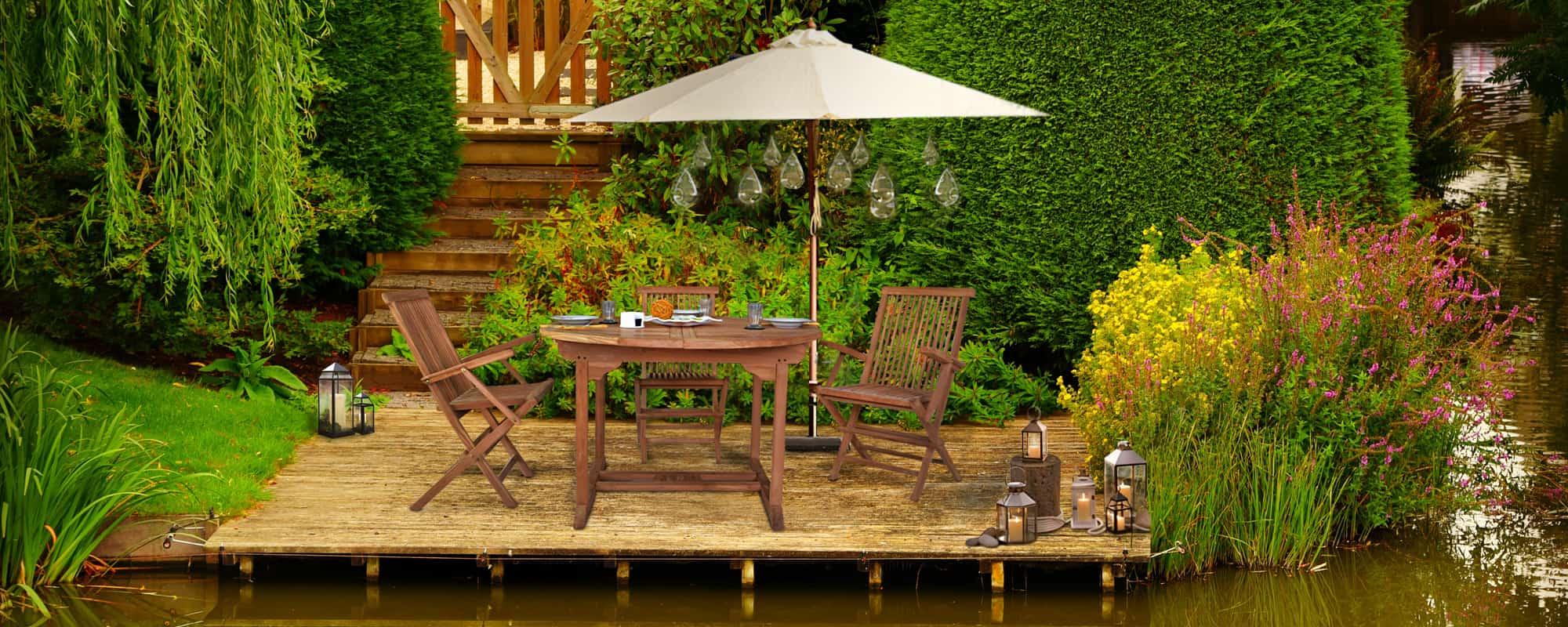 Gartenmöbel Aus Massivholz Online Kaufen Miamöbel