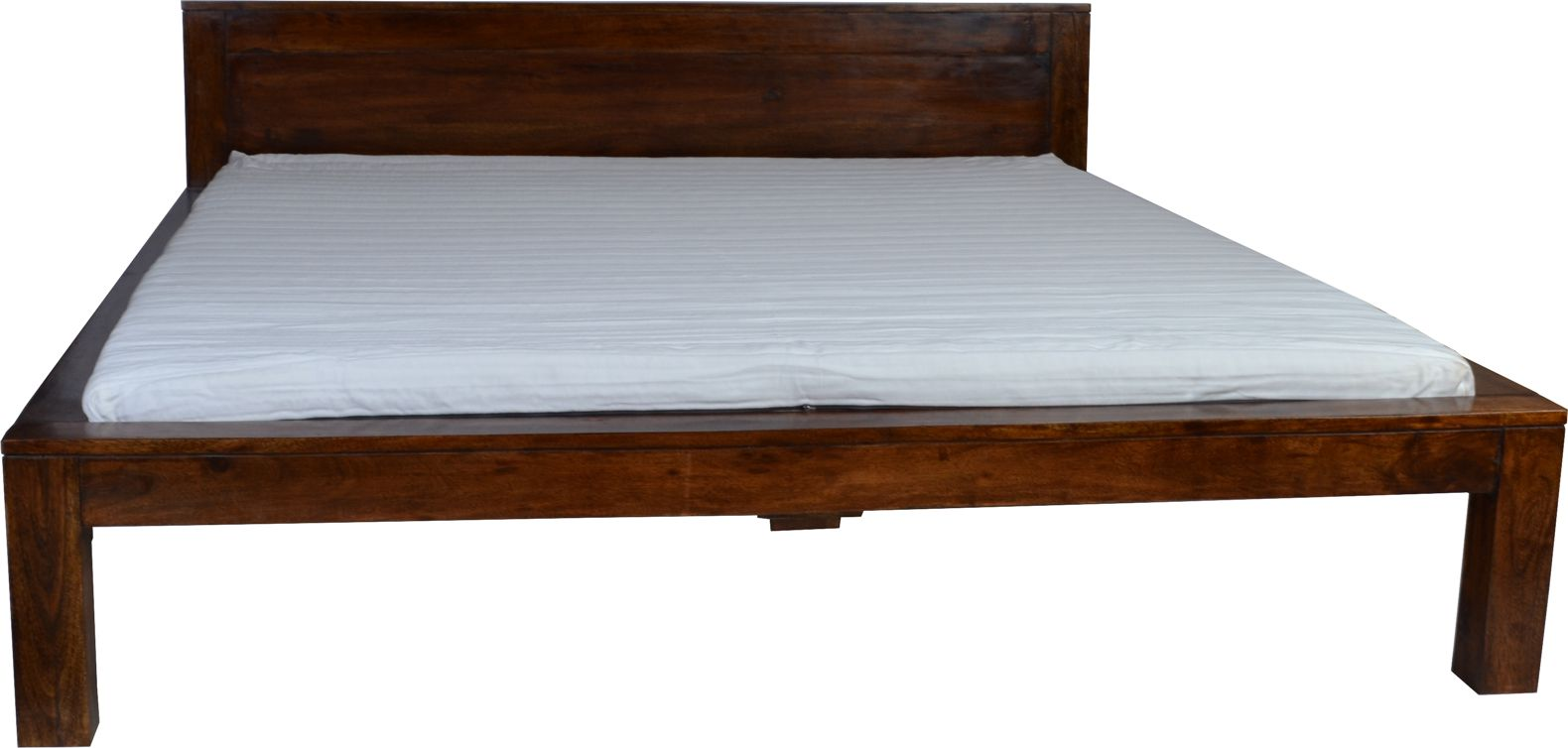 bett ashoka massivholz m bel akazie walnuss 20568 ebay. Black Bedroom Furniture Sets. Home Design Ideas