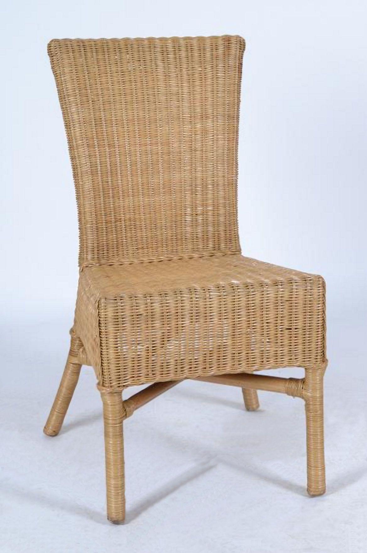 rattanstuhl 39 paris 39 rattan m bel honig 80014 ebay. Black Bedroom Furniture Sets. Home Design Ideas