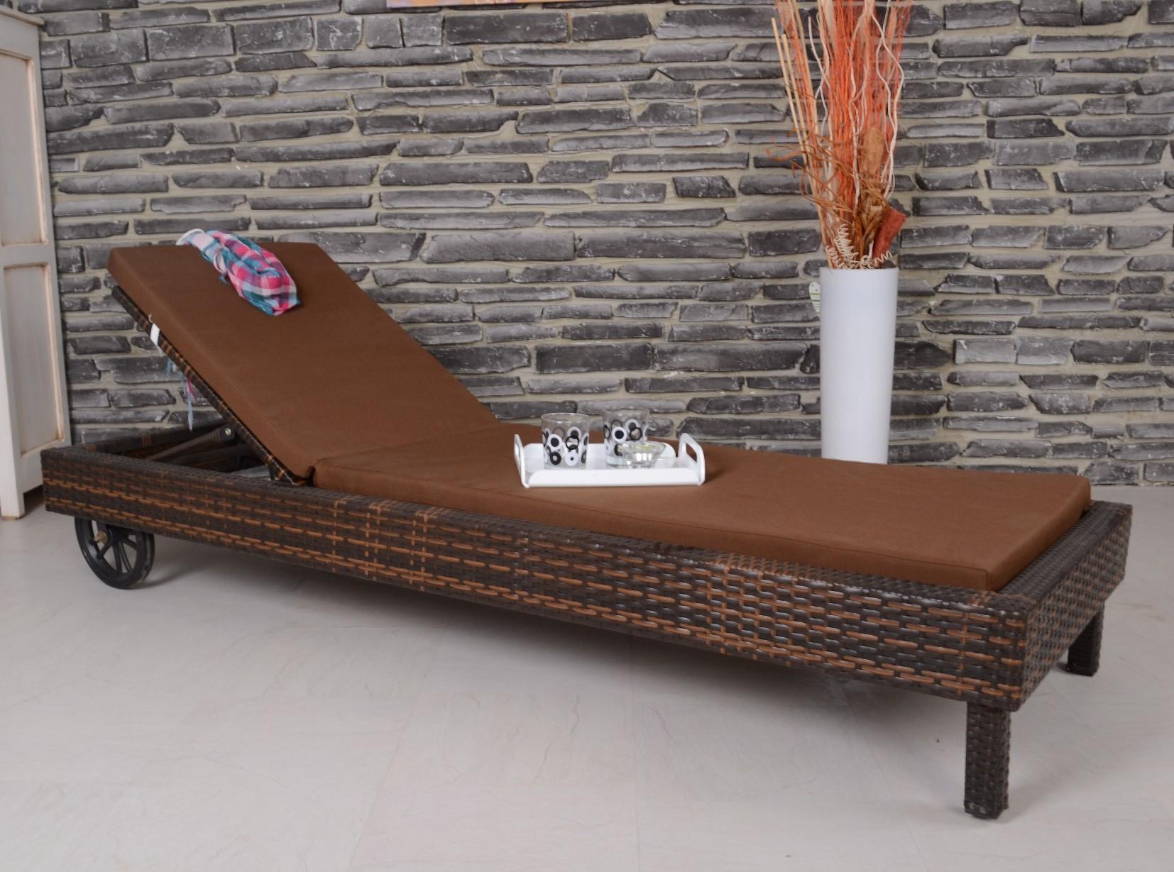 preisvergleich eu gartenliege aus polyrattan. Black Bedroom Furniture Sets. Home Design Ideas