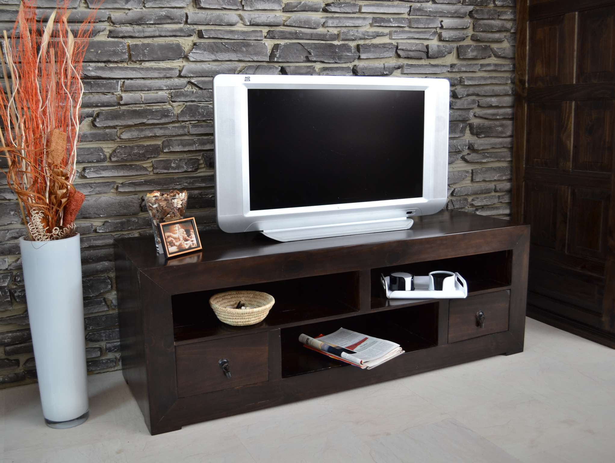 mexico tv kommode massivholz m bel pinie kolonialstil 10542 mexiko ebay. Black Bedroom Furniture Sets. Home Design Ideas
