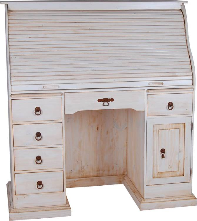 mexico sekretaer gross massivholz moebel pinie weiss 10543 mexiko ebay. Black Bedroom Furniture Sets. Home Design Ideas