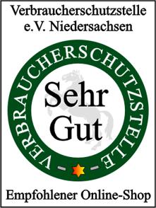 Siegel der Verbraucherschutzstelle Niedersachsen